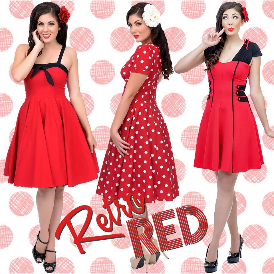Vintage Inspired Valentines Day Dresses Skirts Lingerie