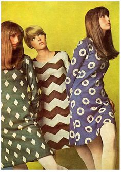 1960s Shift Dresses : 1960s, shift, dresses, Clothing, Outfit, Ideas