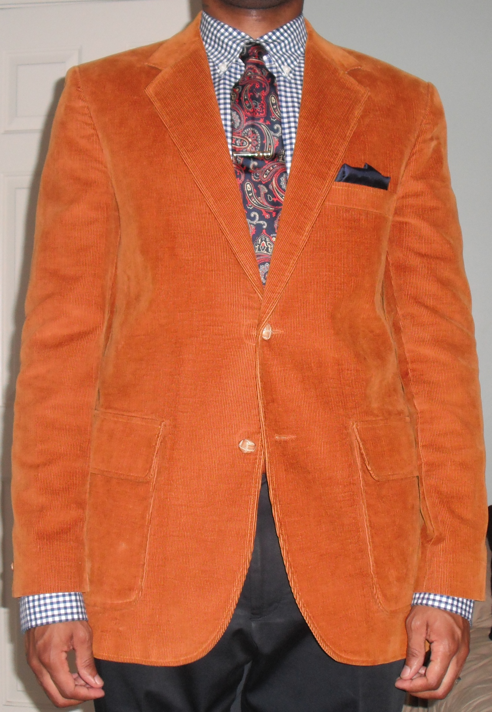 Burnt Orange Blazer Vintage Dope Dealer