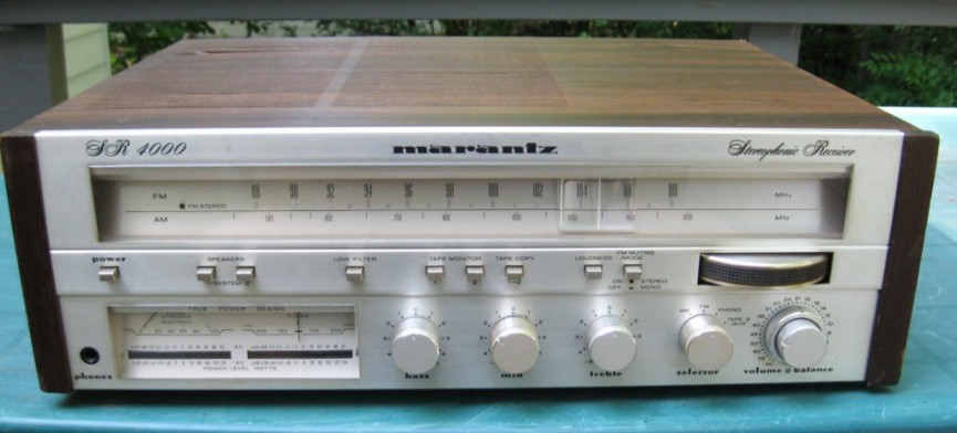 Marantz Stereo Receiver Model SR 4000