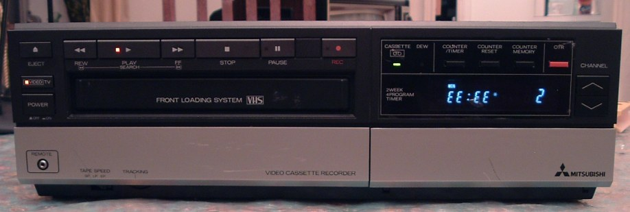Mitsubishi VHS VCR Model HS316UR