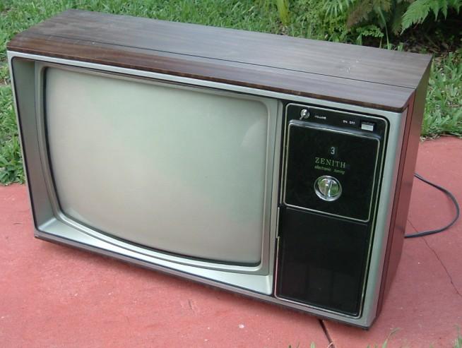 Inch Tv 1980s 19 Zenith