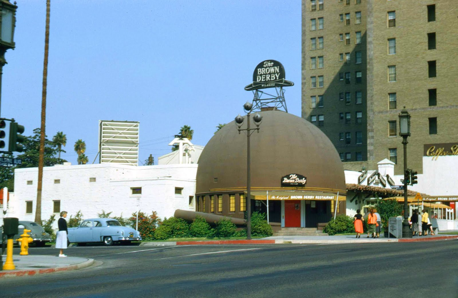Los Angeles in the 1940s 1950s 1960s and 1970s  vintage