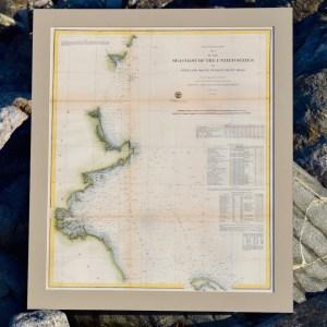 Antique Nautical Chart