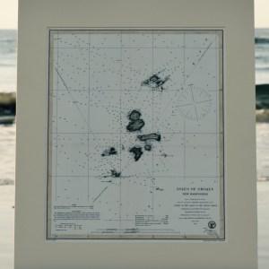 Antique Nautical Chart Isles of Shoals