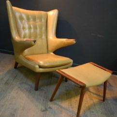 Papa Bear Chair Gray Living Room Chairs Danish Modern Vintage Furniture Guru