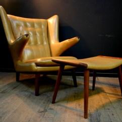 Papa Bear Chair Teak Dining Room Chairs Hans Wegner Restoration Vintage