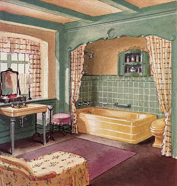 1930s Interiors Weren't All Black Gold And Drama