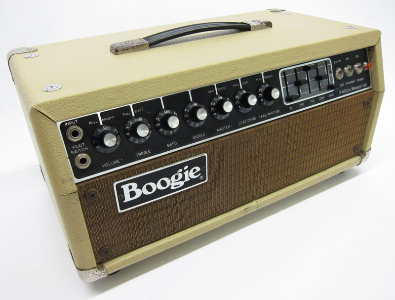 1979 MESA Boogie Mark IIA Amp Head  Vintage Gear Blog