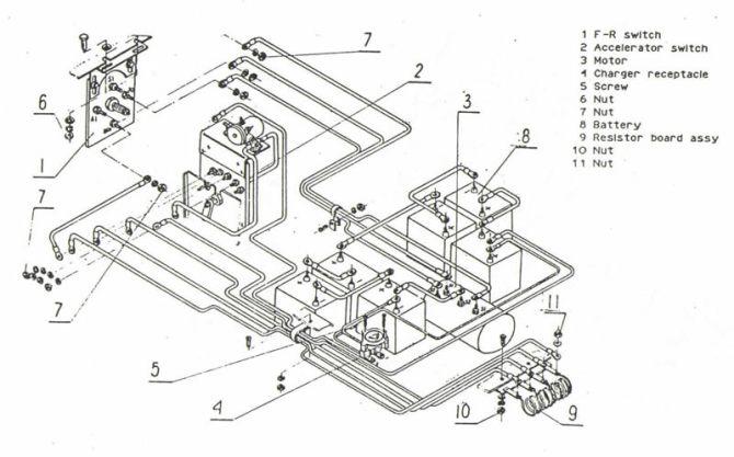 ezgo 36 volt melex wiring diagram 95 vfr 750 honda engine