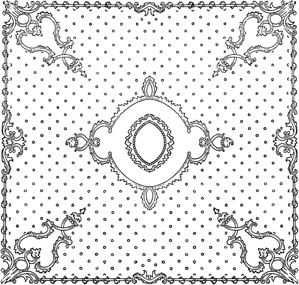 Vintage Rococo Scroll Frames