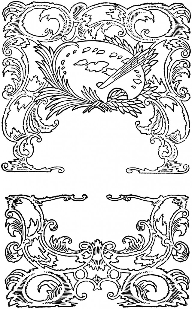 Vintage Rococo Scroll Frames 2