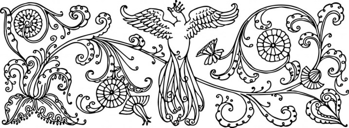 vgosn_vintage_bird_with_crown_clipart_image_bw