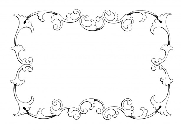 clip art, free frame, frame, border, ornament, decorative, illustration, ornate, craft projects, transfer, design, crafts, scrapbooking, digital scrapbooking, photo shop, photoshop