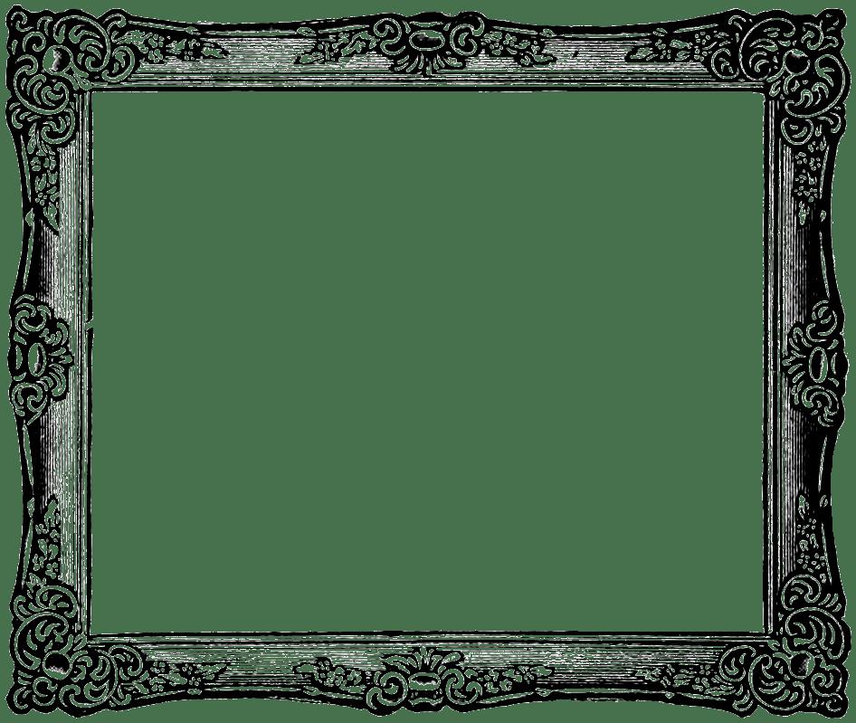 Art And Frame White House Black Clip