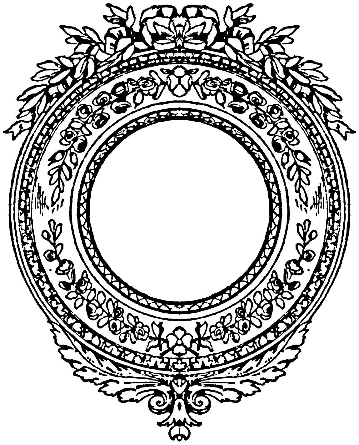 royal border clip art