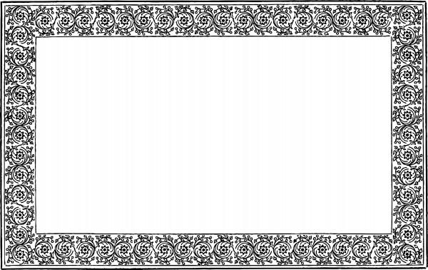 vgosn_vintage_border_frame_clip_art_vector