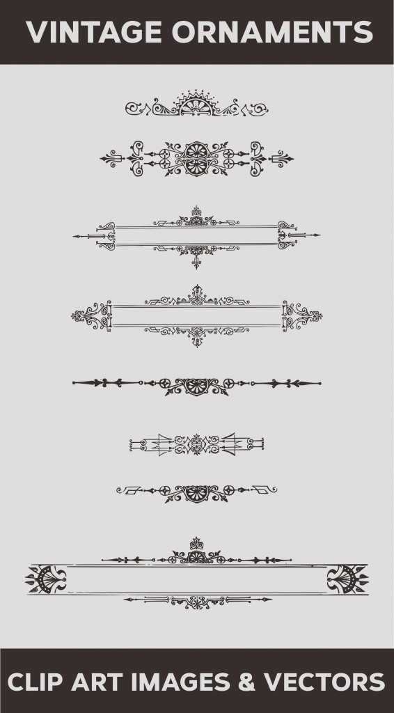 vector ornaments, free vector dividers, vector flourishes, flourishes vector, vector art clipart, free vector frames and borders, vintage royalty free images, vector banners free
