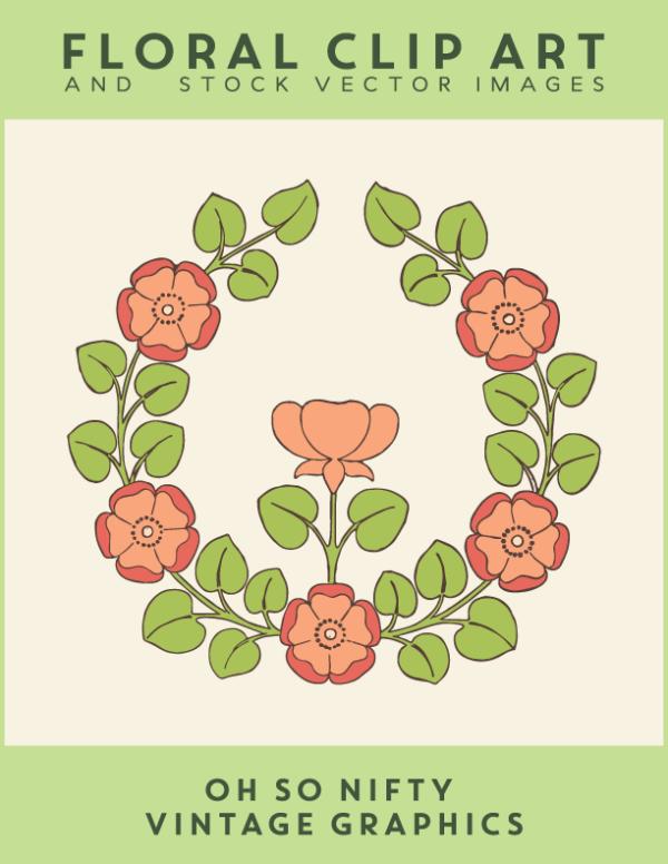 vgosn_free_stock_images_floral_rose_emblem_colored