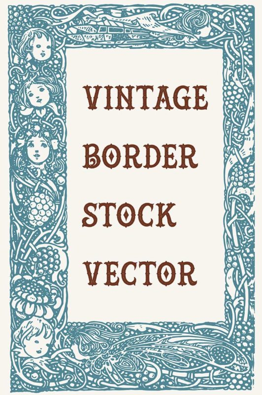 Vintage Royalty Free Images - Ornate Border