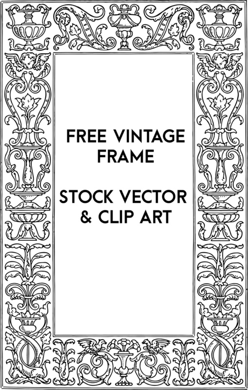 Free Stock Images - Ornate Frame Border