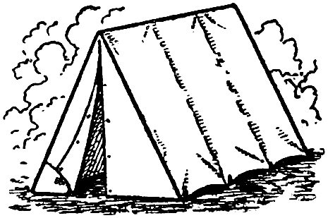 Free Clip Art - Camping Tent