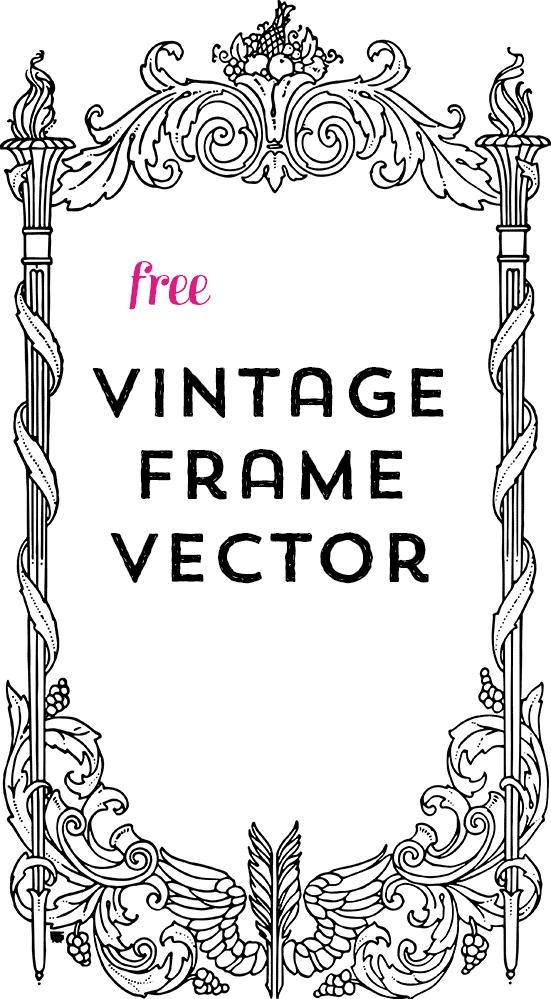Vector Art | Gorgeous Ornamental Frame