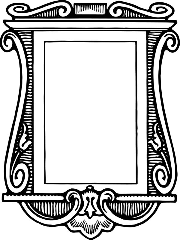 Antique Picture Frame Clipart Free ✓ All About Clipart