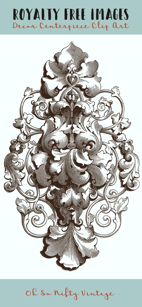 Royalty Free Images - Ornament Decor Centerpiece