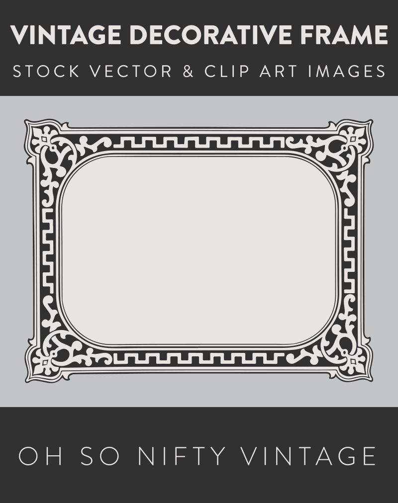 Royalty Free Images | Vintage Decorative Frame
