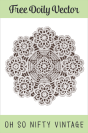 Royalty Free Vintage Doily Images