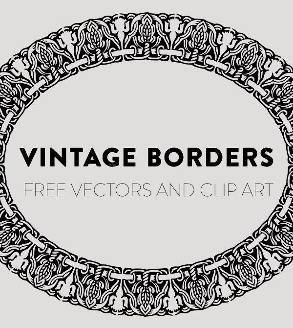 Royalty Free Clip Art - Vintage Borders