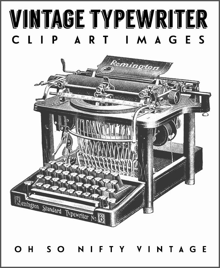 Vintage Typewriter Stock Images