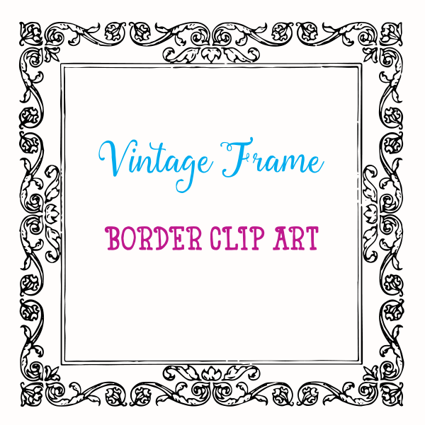 Royalty Free Images | Fancy Vintage Frame