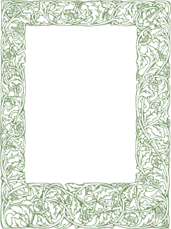 Green Royalty Free Images | Ornate Vintage Border