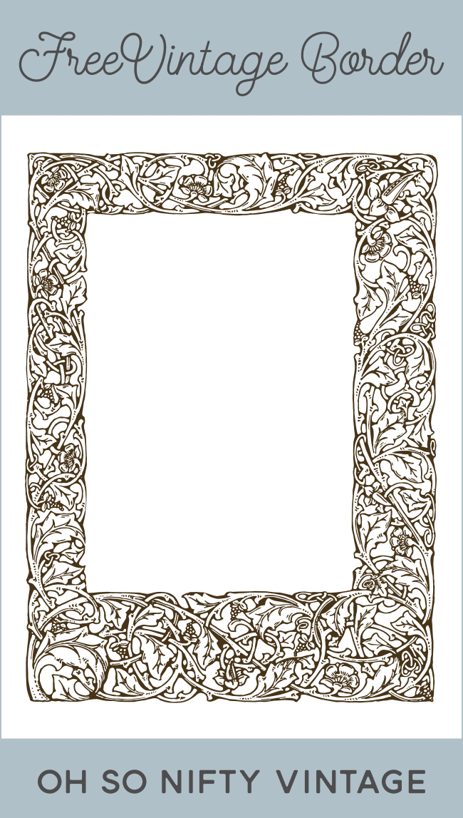 Royalty Free Images | Ornate Vintage Border
