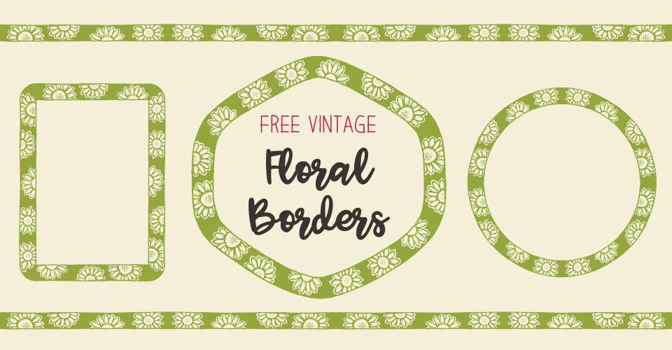 Royalty Free Clipart | Daisy Borders