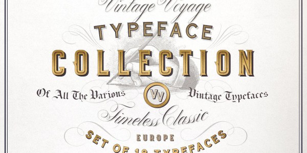 Vintage Fonts Bundle