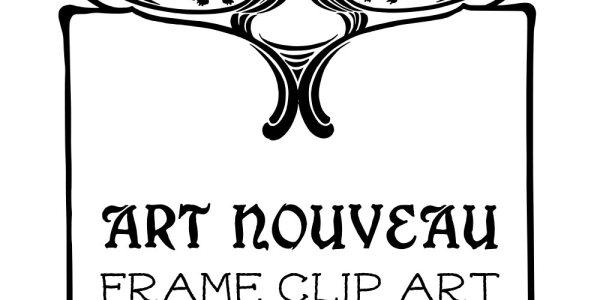 Royalty Free Stock Vector   Art Nouveau Frame