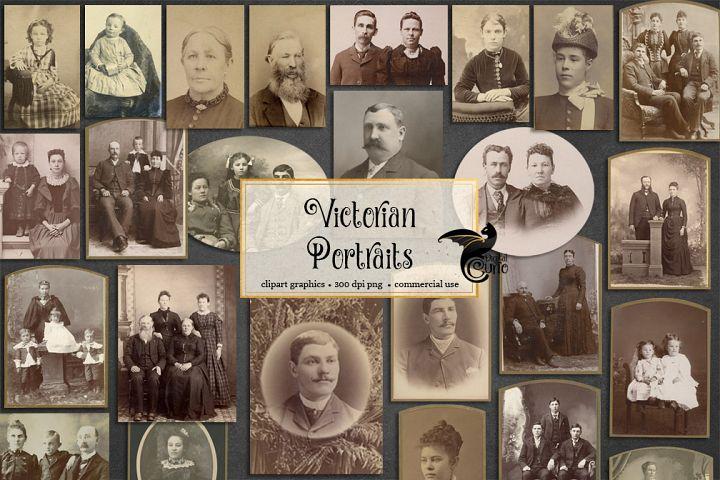 Free Victorian Portraits