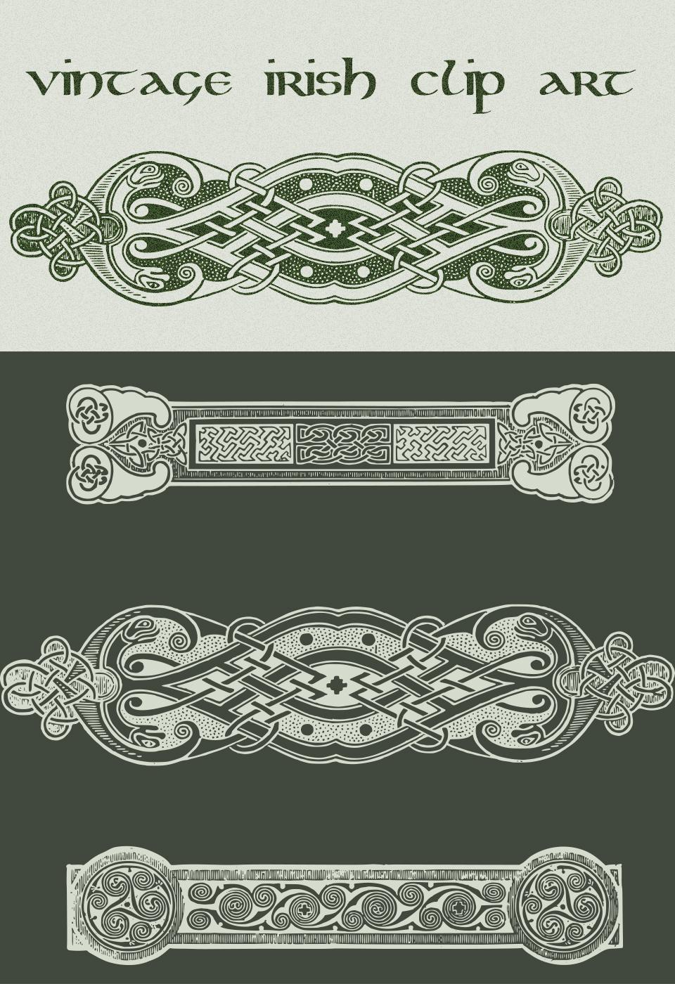 Vintage Irish Clip Art
