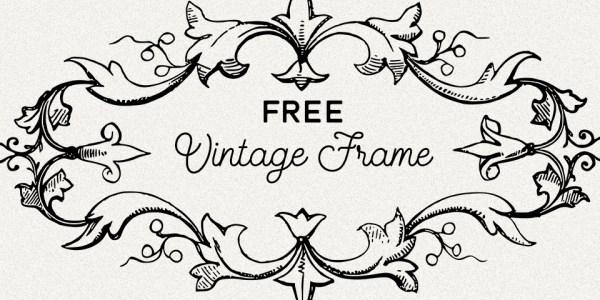 Rustic Vintage Label Frame Vector Image