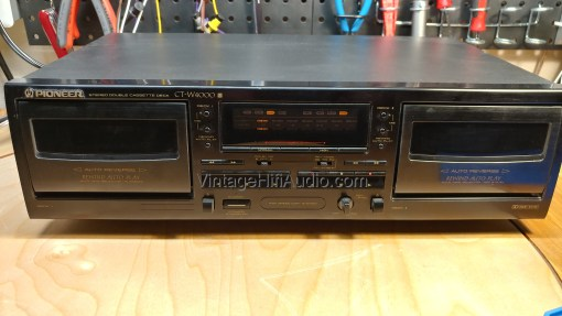 Pioneer CT-W4000 front