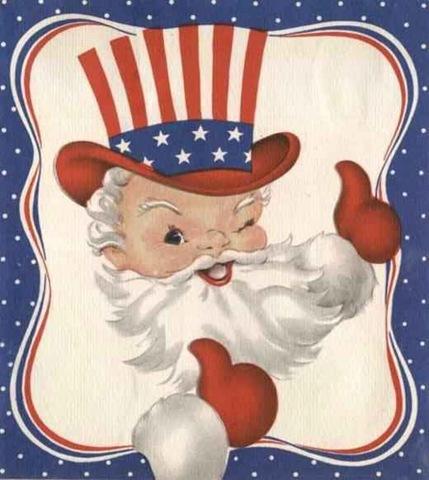 Even Santa Claus was an AMERICAN PATRIOT