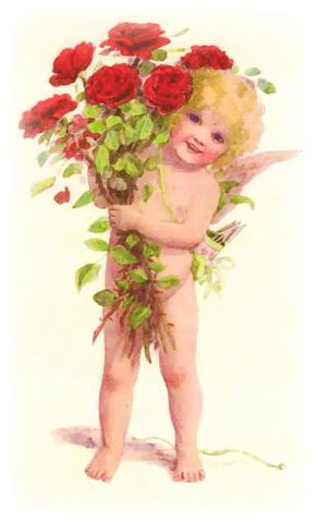 Free Vintage Valentine Clip Art Vintage Holiday Crafts