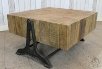 RETRO INDUSTRIAL STYLE COFFEE TABLE RECLAIMEDVintage ...