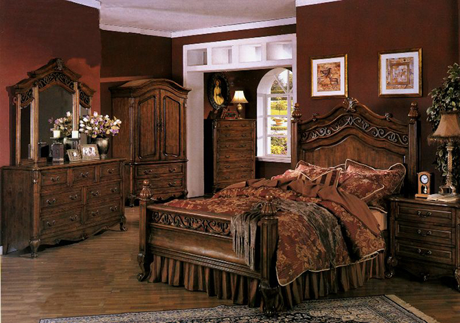10 Must See Antique Style Bedrooms