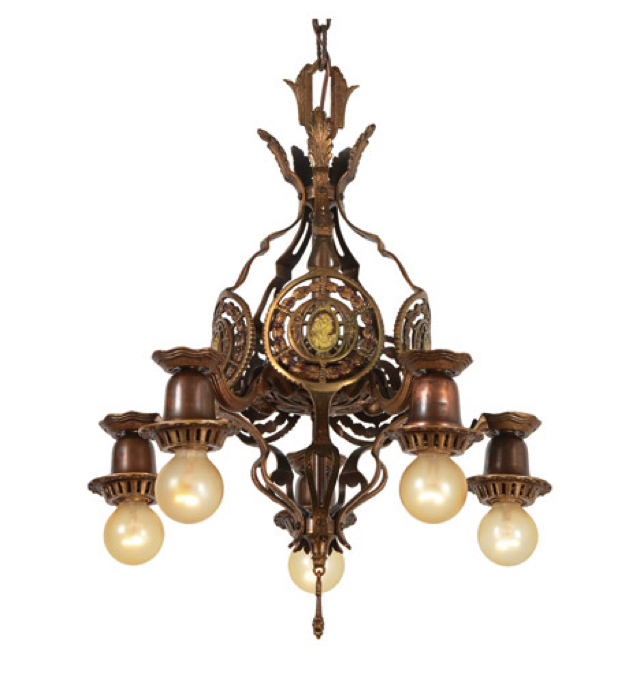 Classical Revival Cameo Chandelier Antique Chandeliers With An Design