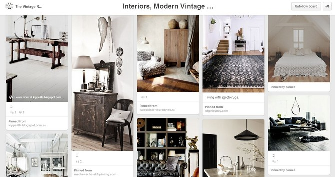Top 5 Best Vintage Decor Pinterest Boards Vintage Industrial Style