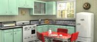 How to create a retro kitchen